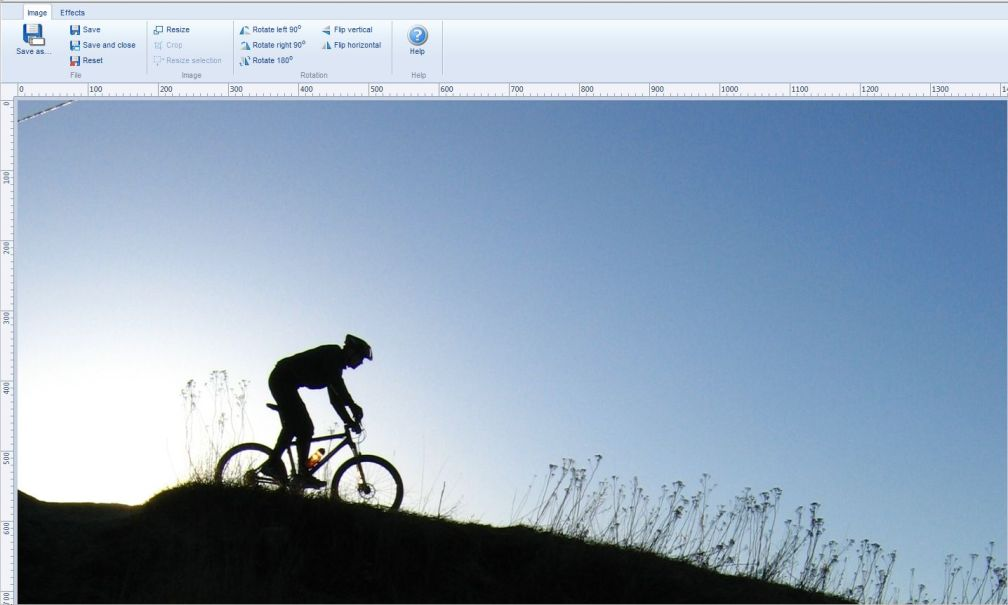 The new image editor in Dynamicweb 7